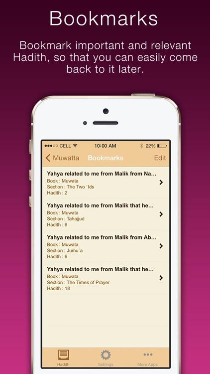 Al Muwatta (Sahih Muwatta) screenshot-3