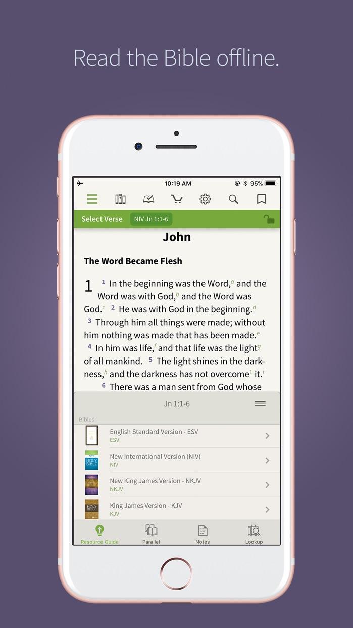 Bible † Screenshot
