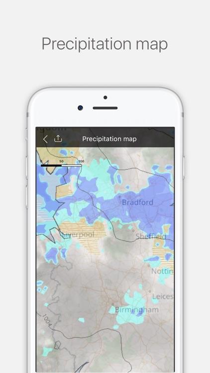 Weather Radar - Live Weather Forecast & Alerts screenshot-4