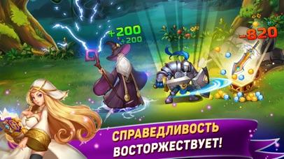 Tap Knights: монстр битва RPG Скриншоты4