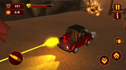 Scary Halloween Shooting Car screenshot 4