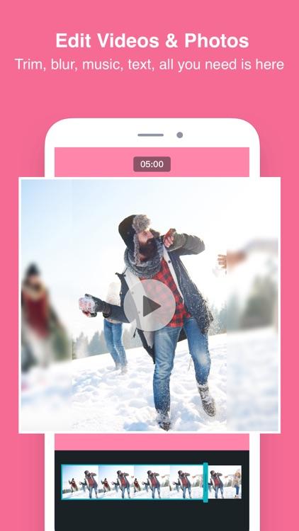 PhotoGrid - Video & Pic Editor screenshot-3