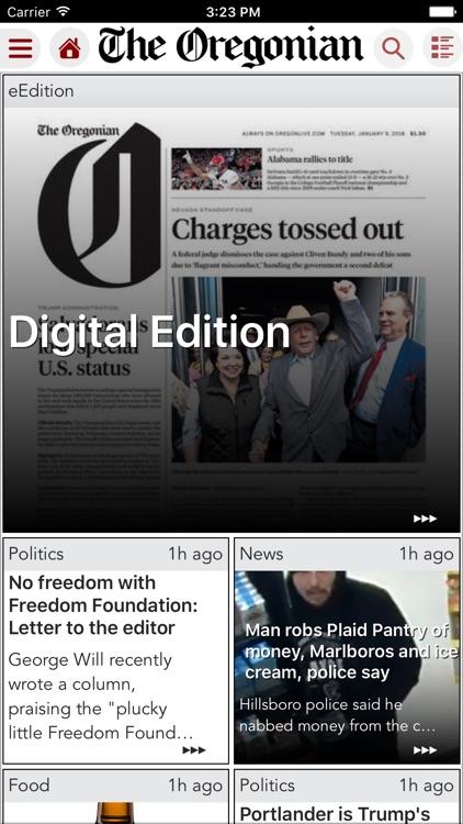 The Oregonian News