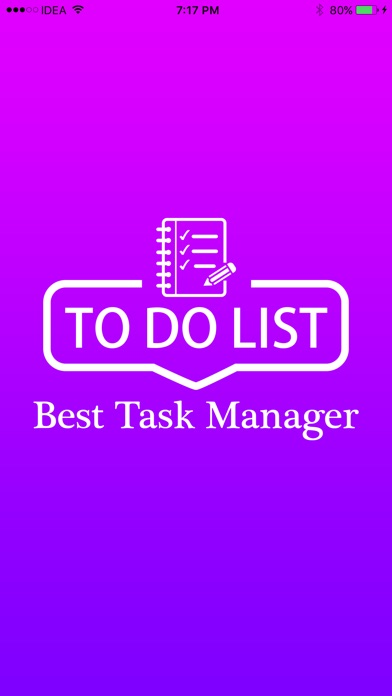 To Do List - Best Task Manager Screenshot
