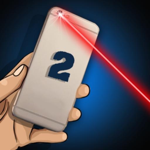 Simulator Laser 2 3D Joke Icon