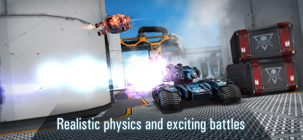 Tanks vs Robots: Mech Games
