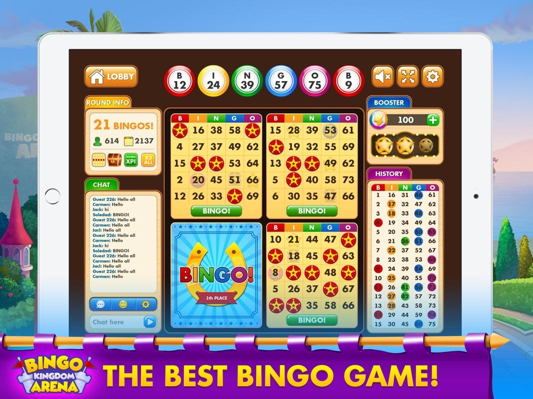 Bingo Kingdom Arena-Bingo Live - Online Game Hack and Cheat