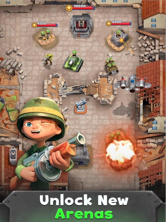 War Heroes Strategy Card Games screenshot 8