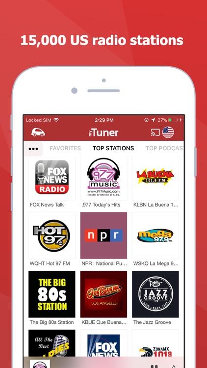 myTuner Radio - Live Stations screenshot-0