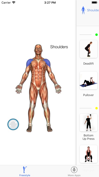 Virtual Trainer Kettlebell screenshot-5