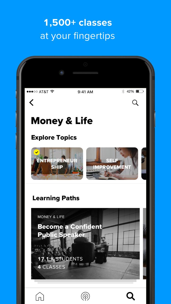 CreativeLive: online classes Screenshot
