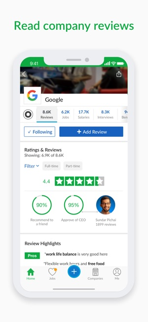 Glassdoor Job Search On The App Store