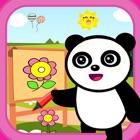 熊猫宝宝画画和涂色大巴士 - 学前绘画全面启蒙2 icon