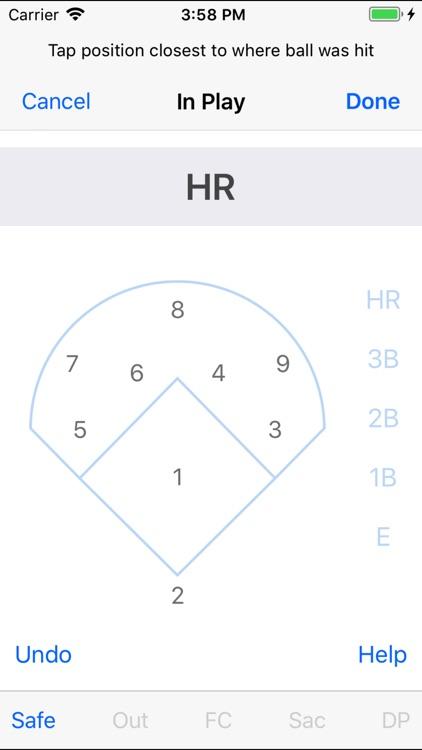 Home Field ScorebooK for Baseball/Softball