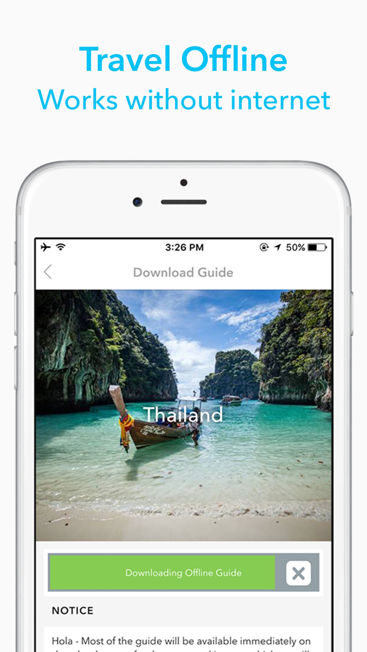 Screenshot do app Sydney Travel Guide by Triposo