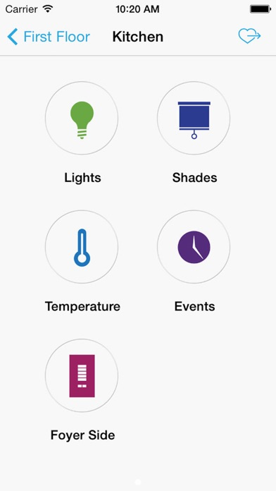 Lutron Home Control review screenshots