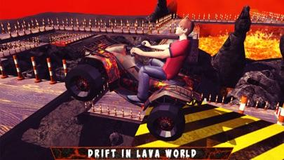 Lava Quad Bike Parking Simulator & Thrilling Ride