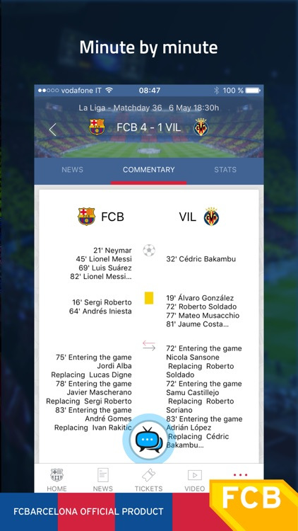 FC Barcelona Official App screenshot-2