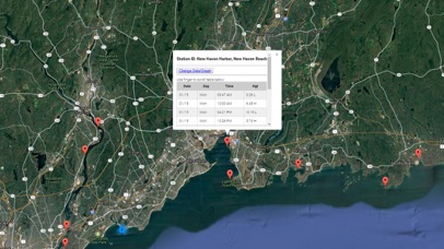 Connecticut Tide Chart Screenshot
