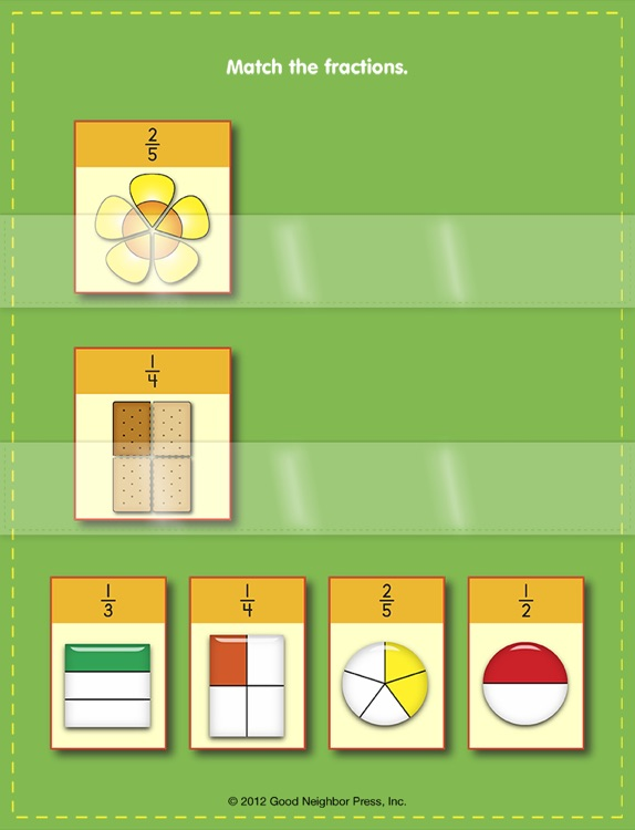 Pocket Charts! Fractions