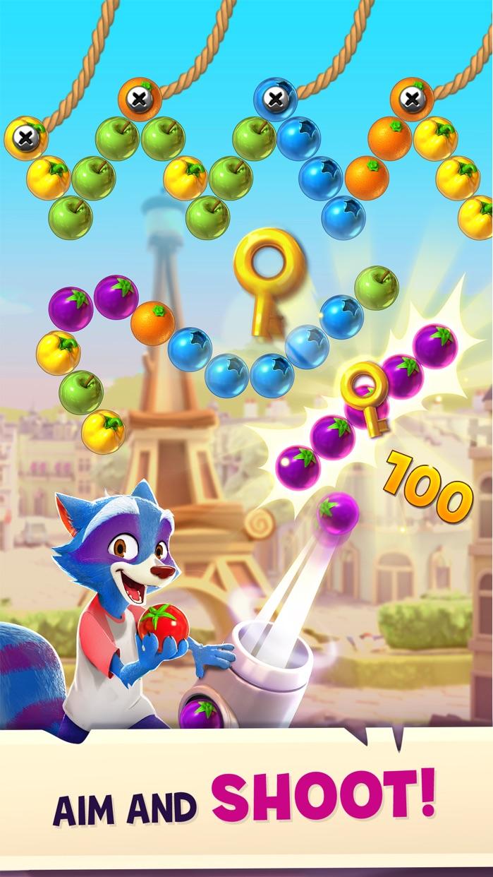 Bubble Island 2: Fruit Shooter Screenshot