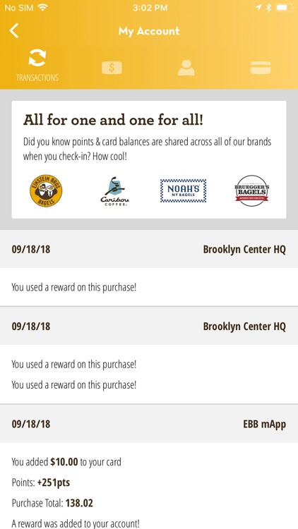 Einstein Bros Bagels screenshot-5