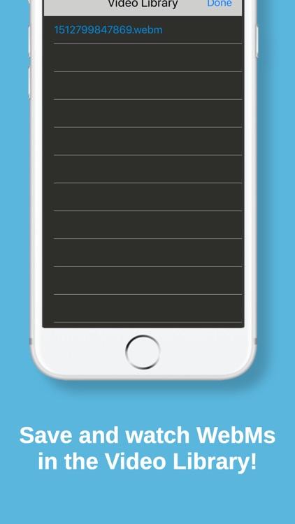 Frost WebM Player Browser screenshot-4
