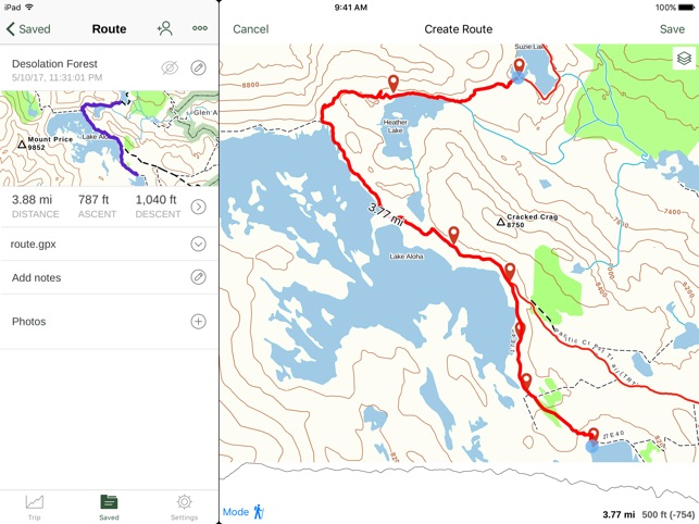 Gaia GPS Hiking Maps Hike App on the App Store