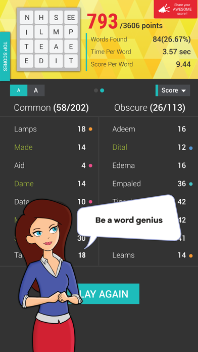Wordathon: Classic Word game screenshot four