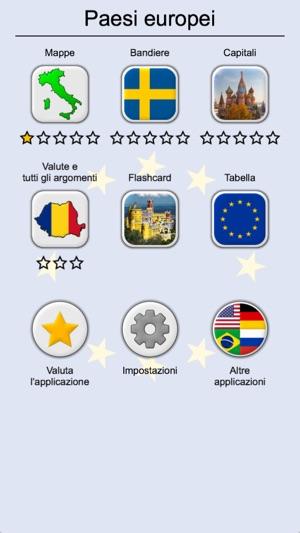 I Paesi Europei Il Mappe Quiz Su App Store