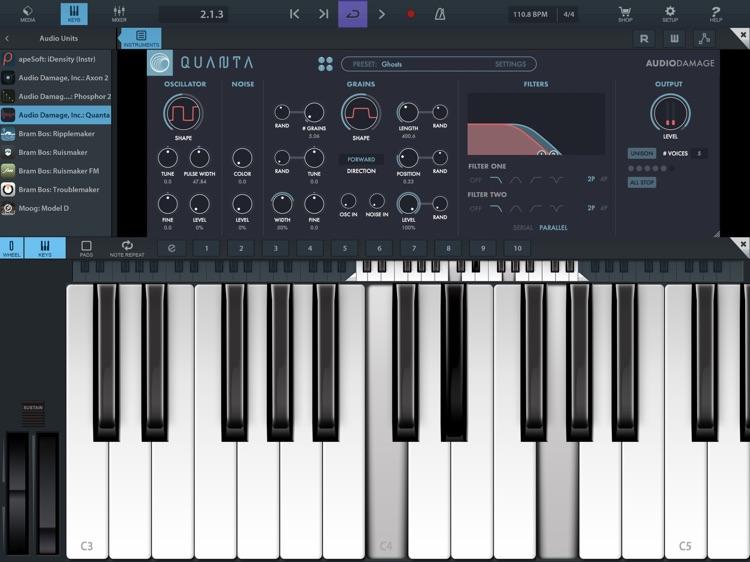 Quanta Granular Synth screenshot-5