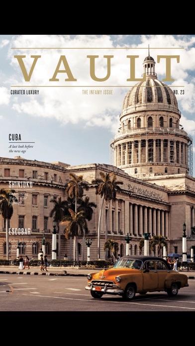 Vault (Magazine) screenshot 3