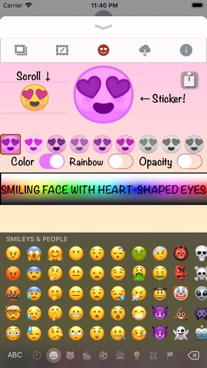 Pink Love • Emoji and stickers screenshot-5