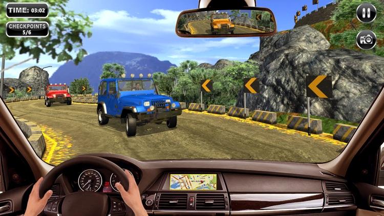 0ffroad Jeep Driving Simulator screenshot-5