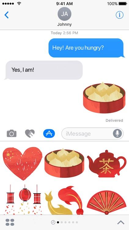 China Stickers - My Asian Adventure