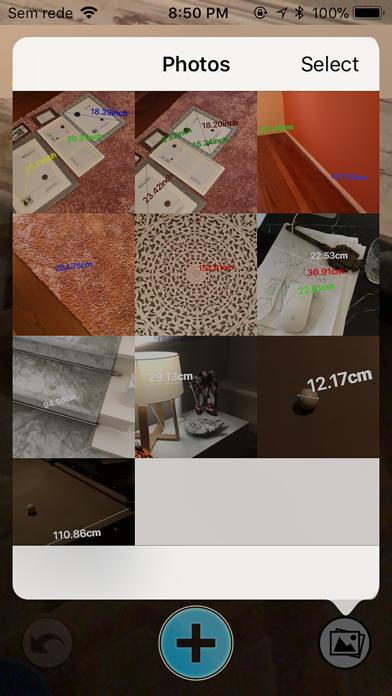 My AR™ メジャー、定規のスクリーンショット2