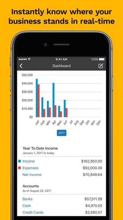 Kashoo Cloud Accounting screenshot-0