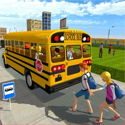 Modern City School Bus