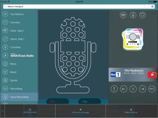 iRadio Italia - Tuner | App Price Drops