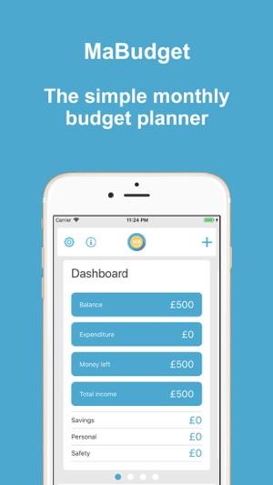 mabudget budget planner をapp storeで