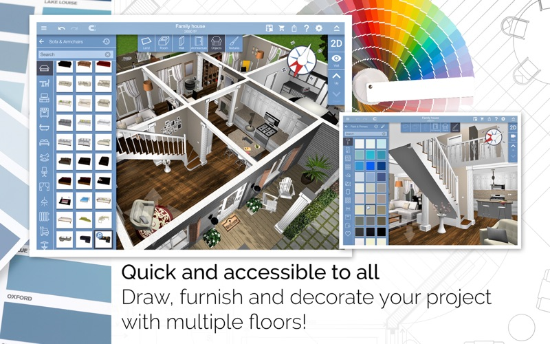Screenshot #2 for Home Design 3D