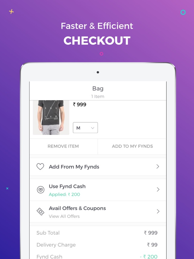 Fynd Online Shopping App on