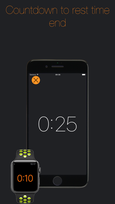 Gym Timer-Timer for rest time screenshot three