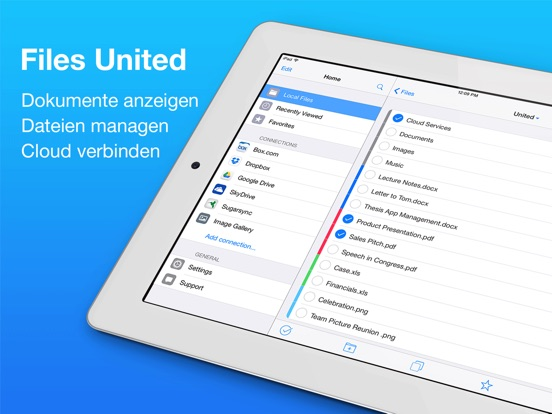 Files United - Dateimanager Screenshot