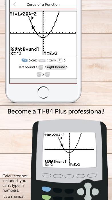 TI 84 Graphing Calculator Man. Screenshot