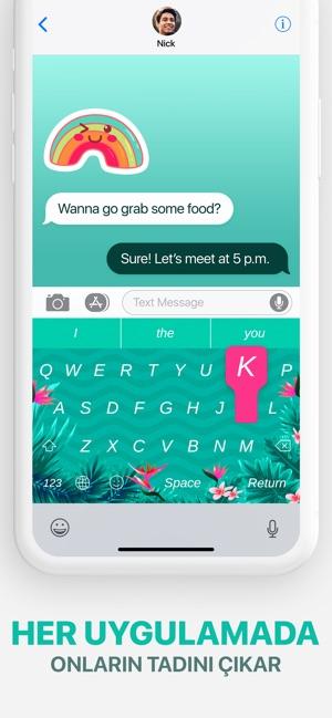 Klavye Temaları Ve Emoji App Storeda
