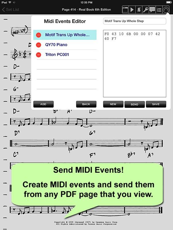 iGigBook Sheet Music Manager 5 screenshot-4