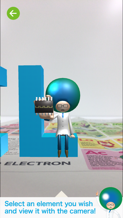 AR Periodic Table of Elements screenshot four