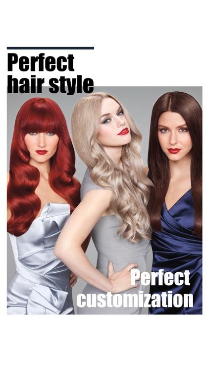 Hair Style Salon&Color Changer screenshot-8