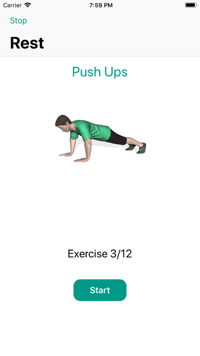 Weight loss workouts- 7 minute screenshot one